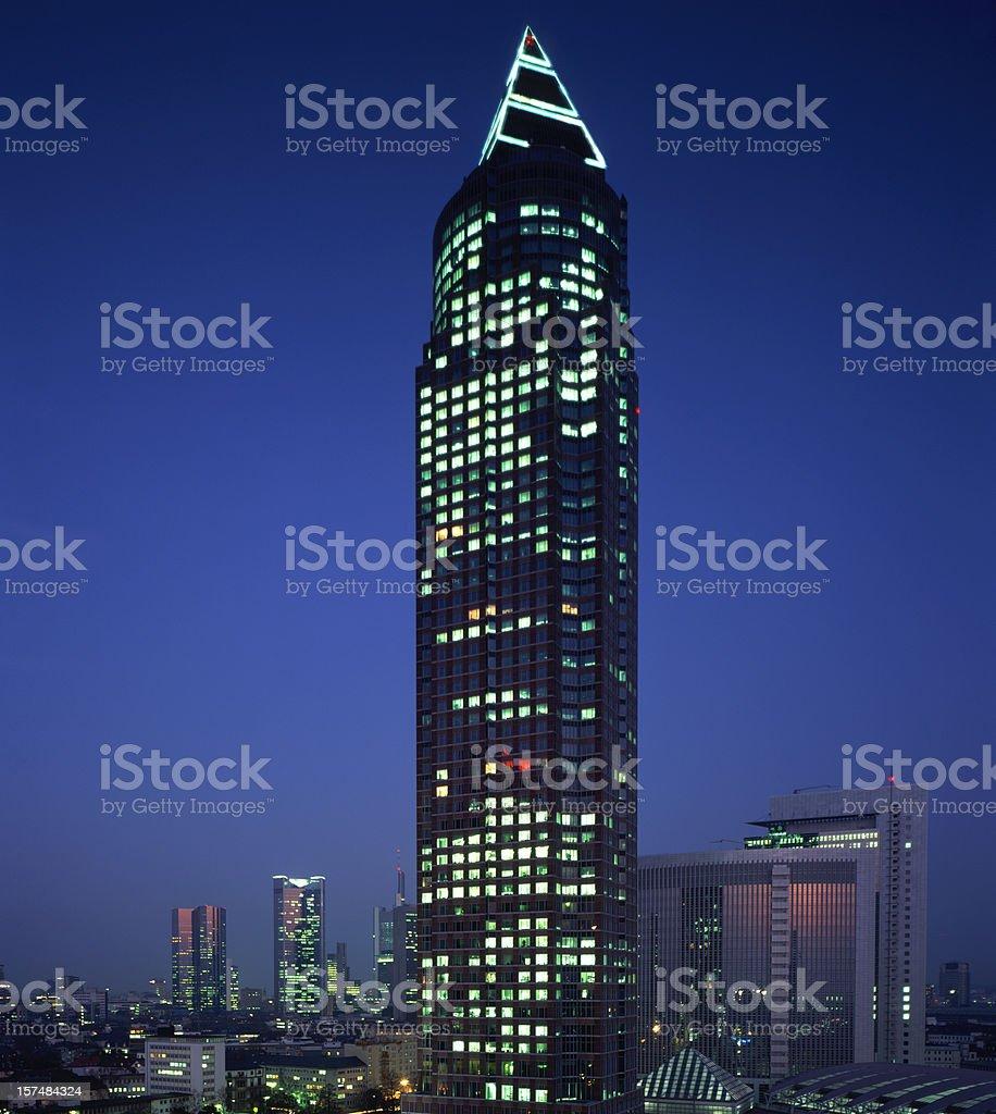 Skyline Frankfurt am Main royalty-free stock photo