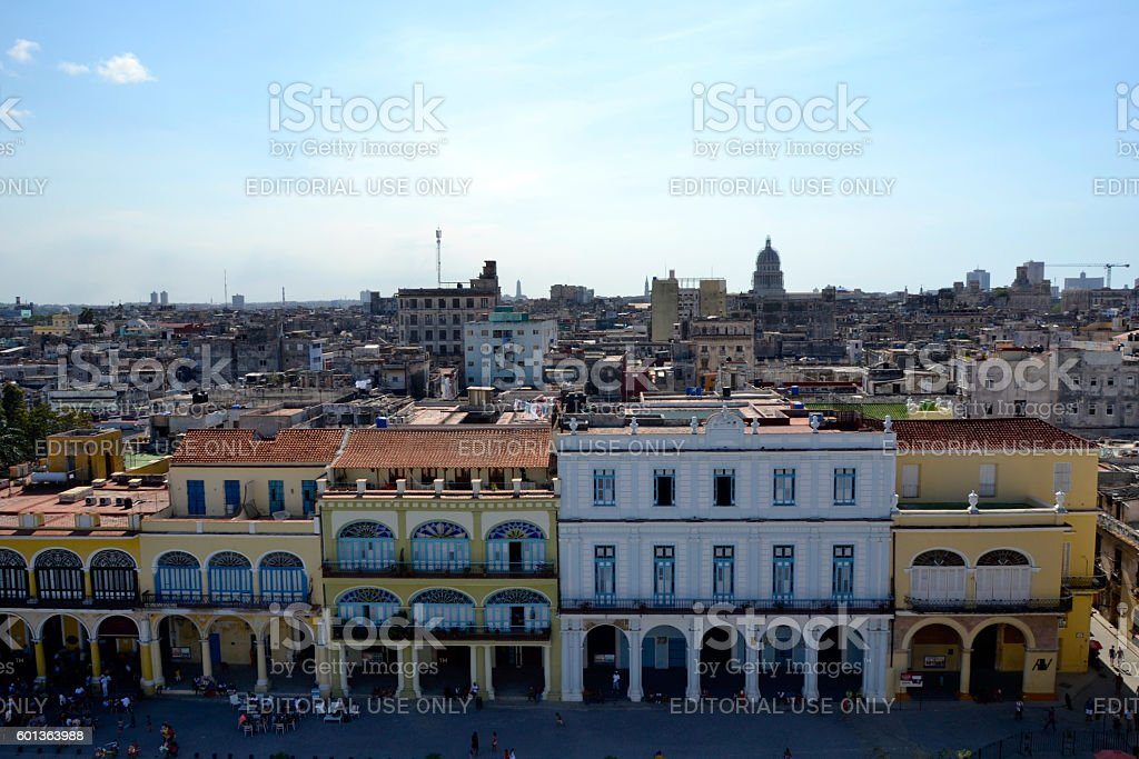 Skyline Havana stock photo
