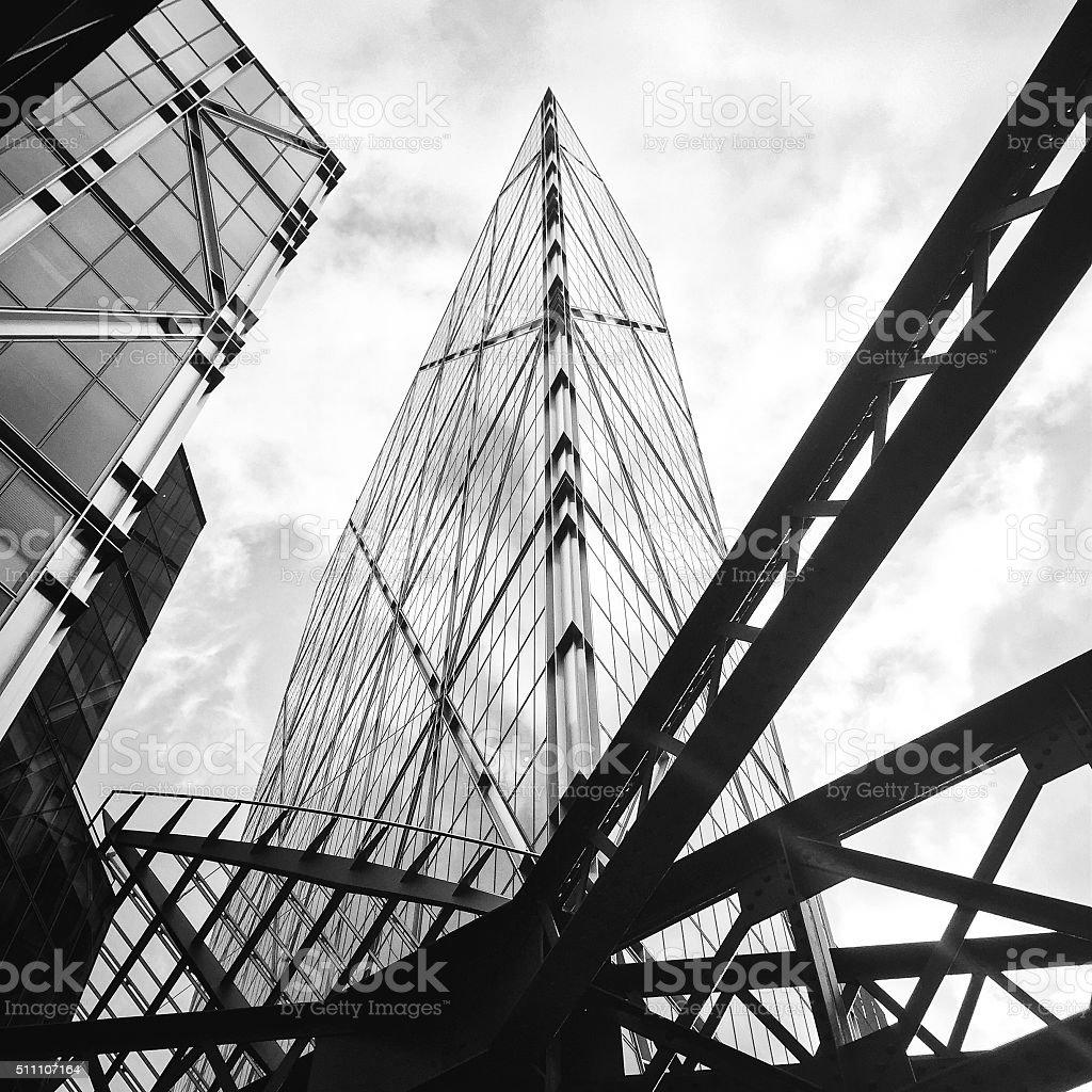 Skyline, London stock photo