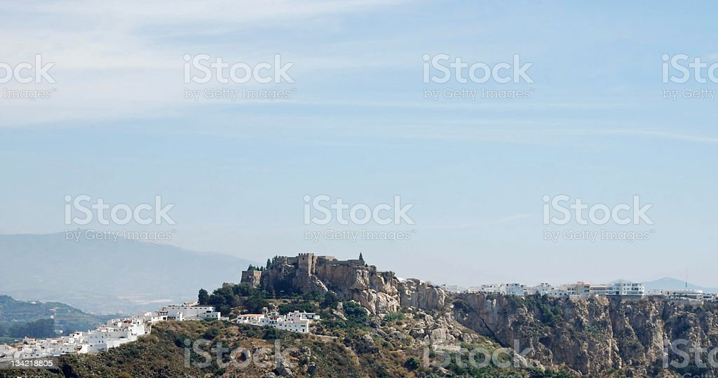 Skyline of Andalusia royalty-free stock photo