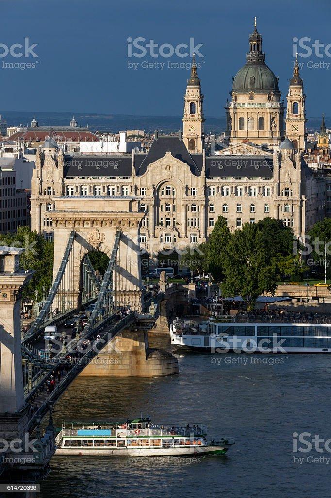 Skyline of Budapest - Hungary stock photo