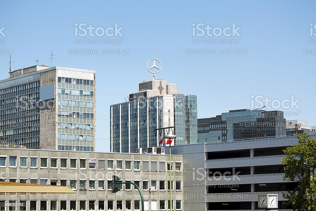 Skyline of Essen royalty-free stock photo