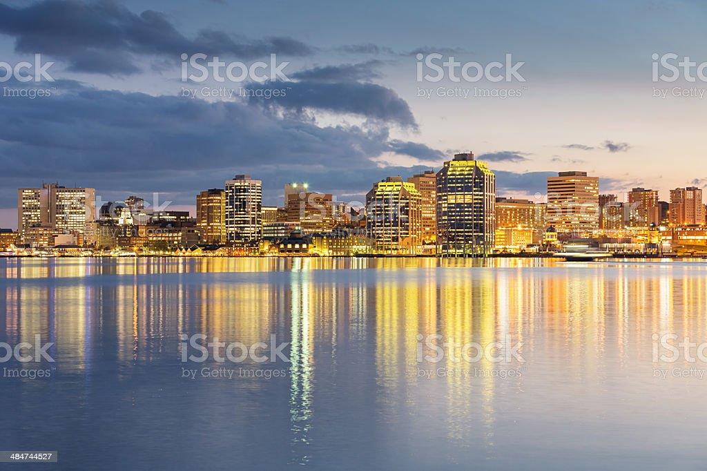 Skyline of Halifax, Canada stock photo