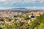Skyline of San Miguel de Allende, Guanajuato in central Mexico