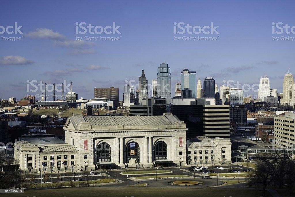 KC Skyline royalty-free stock photo