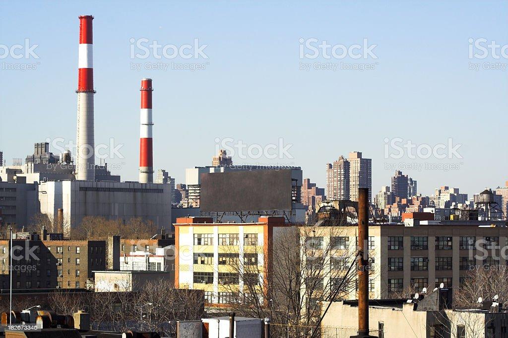 LIC Skyline stock photo