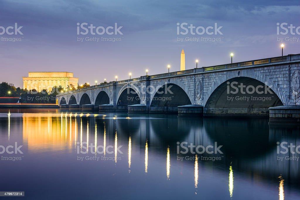 DC Skyline stock photo