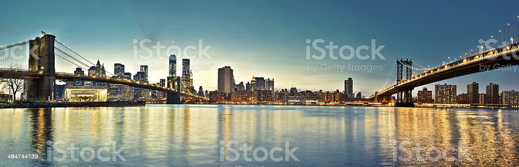 NYC skyline royalty-free stock photo