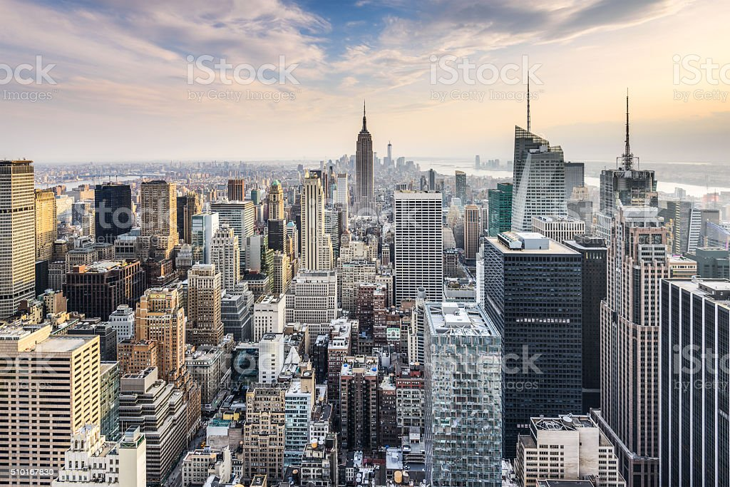 NYC Skyline stock photo