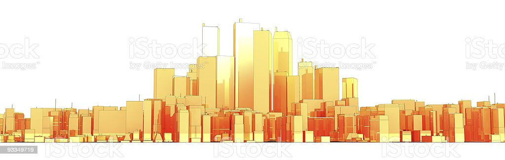Skyline stock photo