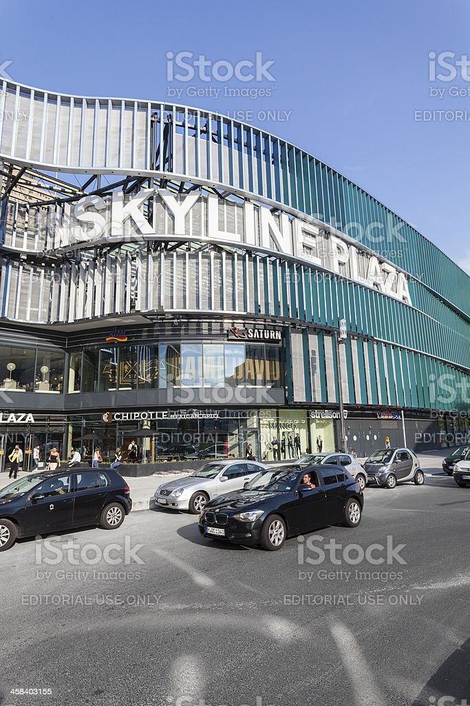 Skyline Plaza, Frankfurt royalty-free stock photo