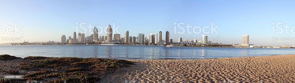 Panoramę San Diego zbiór zdjęć royalty-free