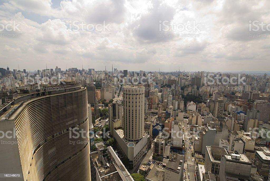 Skyline Sao Paulo royalty-free stock photo