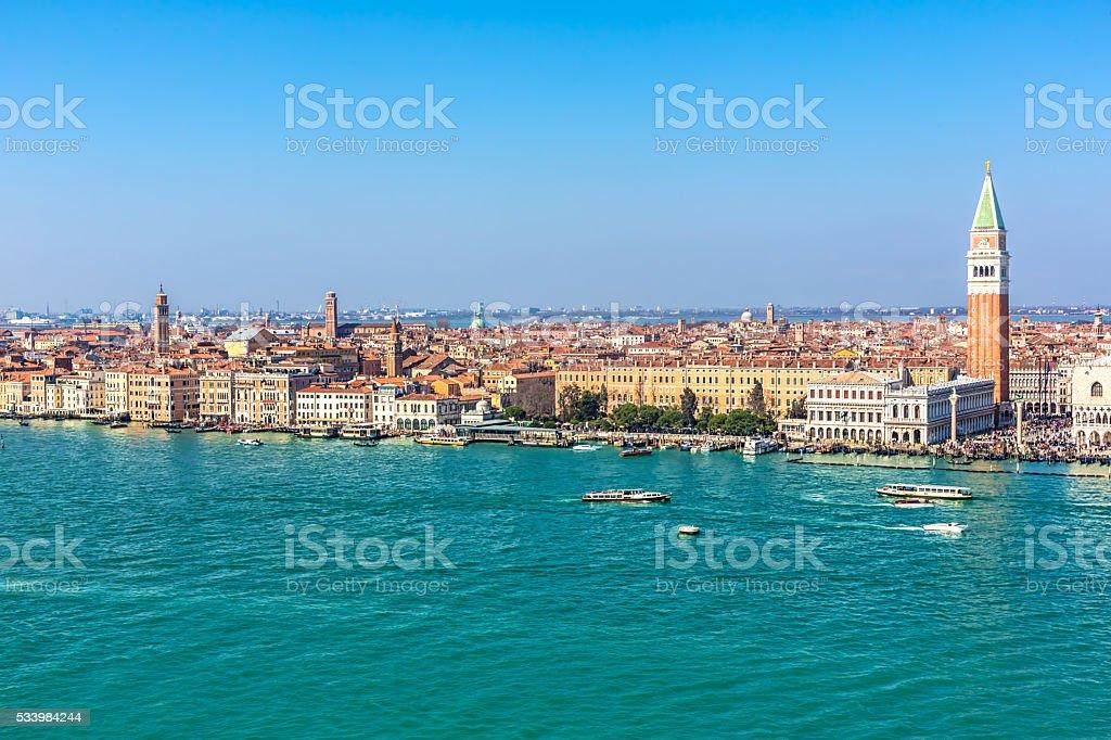 Skyline Venice stock photo