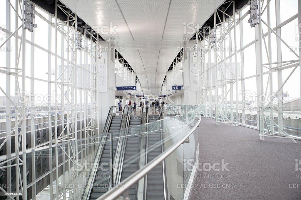 Skylink Terminal royalty-free stock photo
