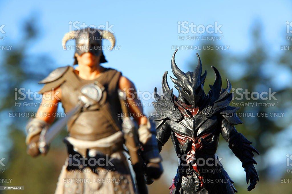 Skyrim Companions stock photo