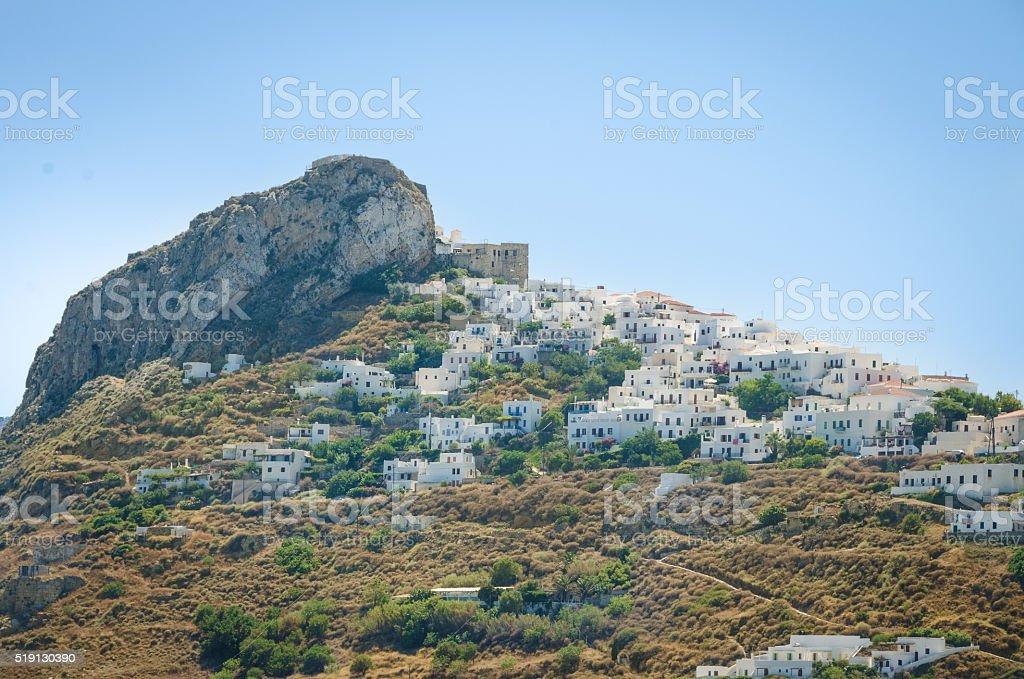 Skyros island stock photo