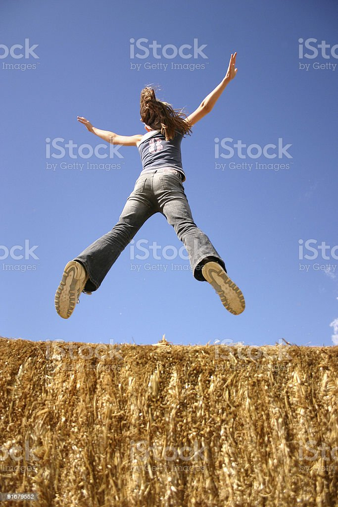 Sky's the Limit! royalty-free stock photo