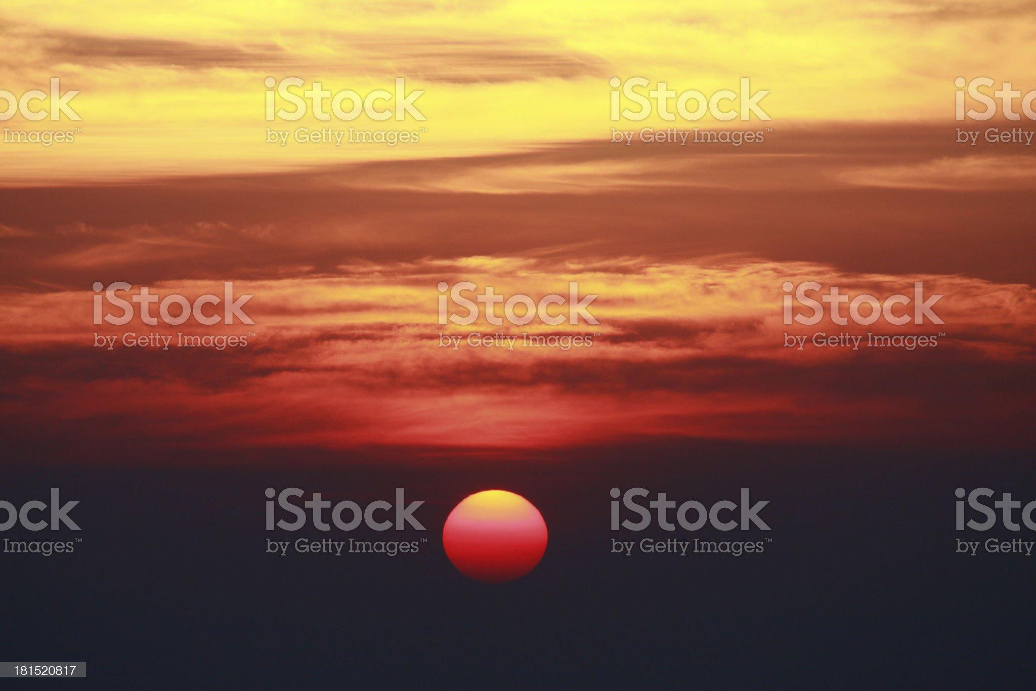 Skyscape royalty-free stock photo