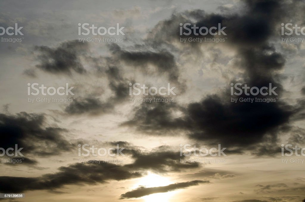 Skyscape stock photo