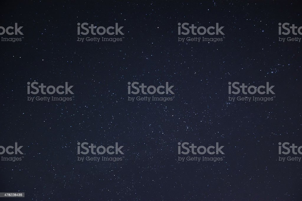 skyscape with star stock photo