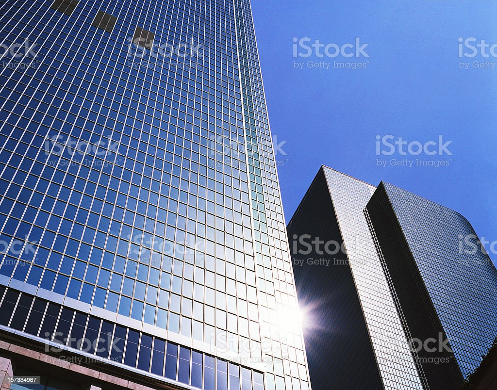 Skyscapers Daytime no 1 stock photo