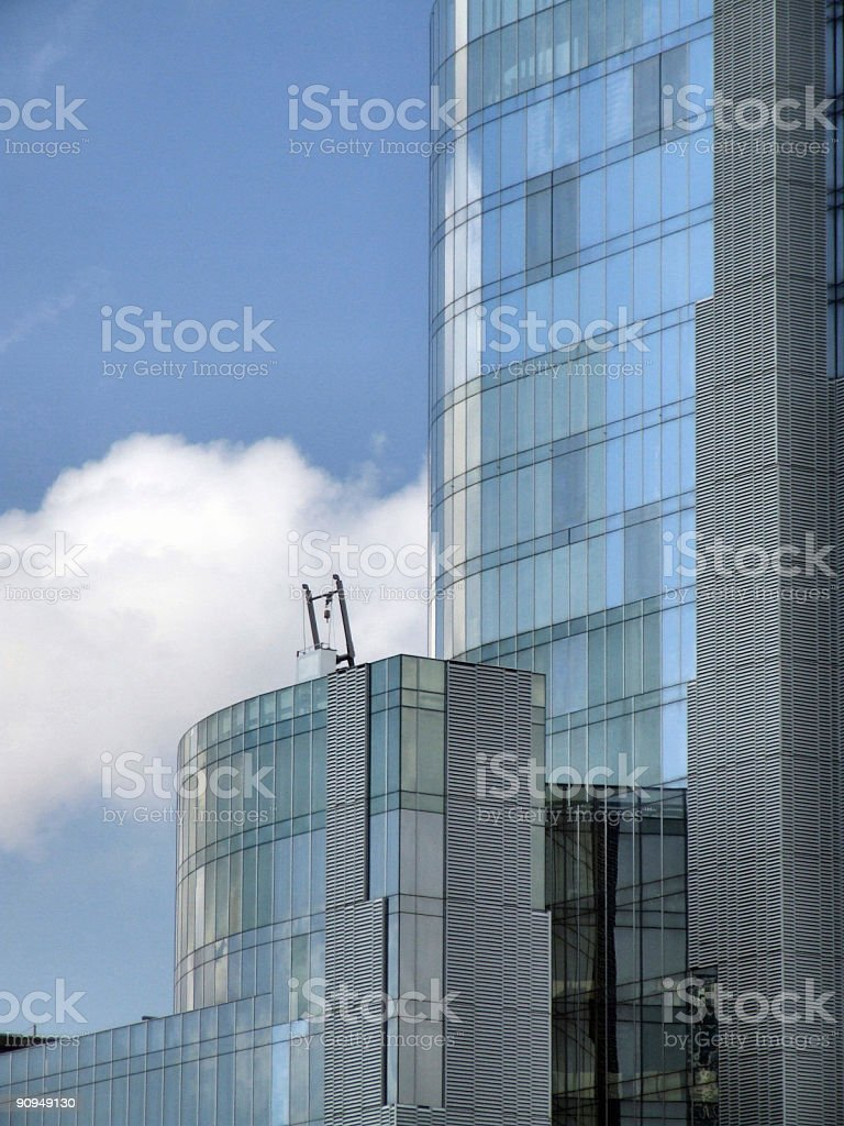 Skyscraper abstract detail stock photo