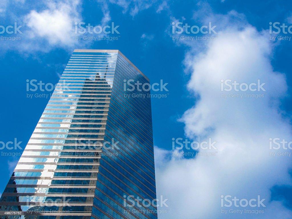 Skyscraper and Sky stock photo