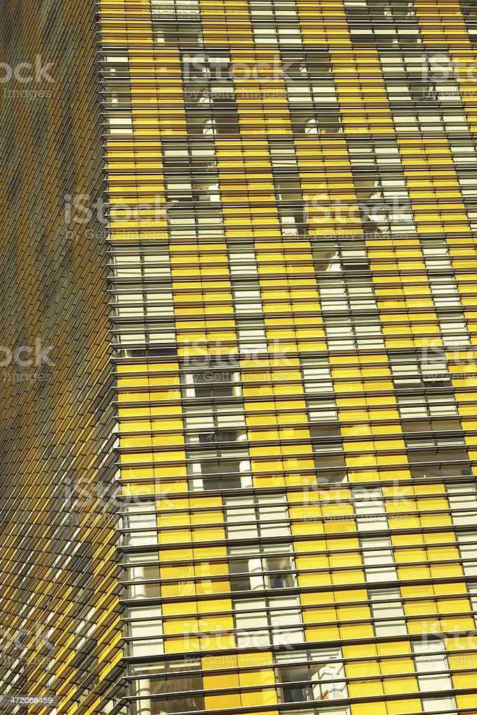 Modern Building Facade Veer Towers stock photo