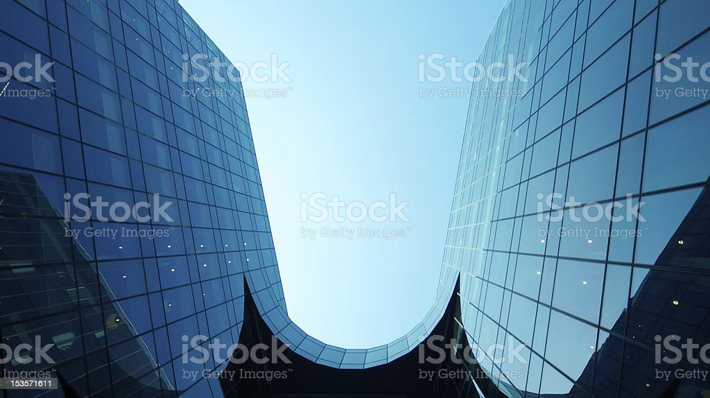 Skyscraper Business Park royalty-free stock photo
