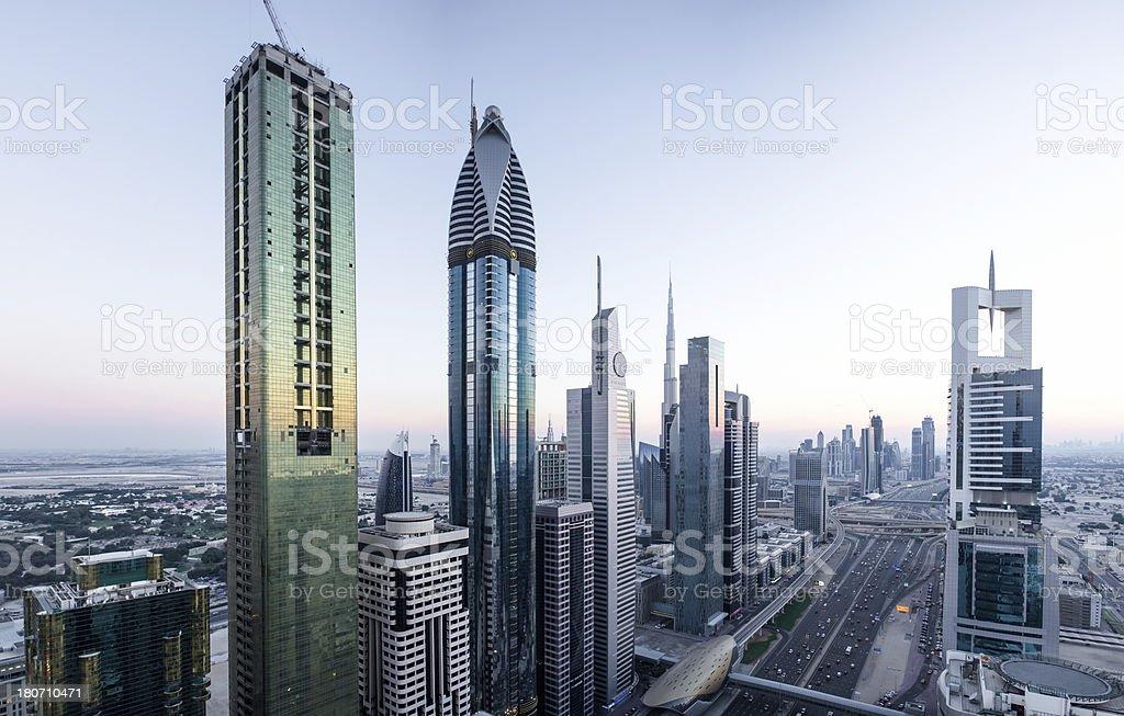Skyscraper City royalty-free stock photo
