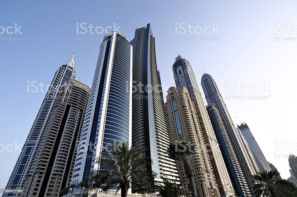 Skyscraper Cluster royalty-free stock photo