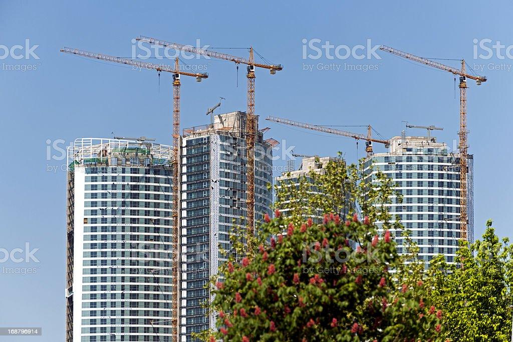 Skyscraper Construction royalty-free stock photo