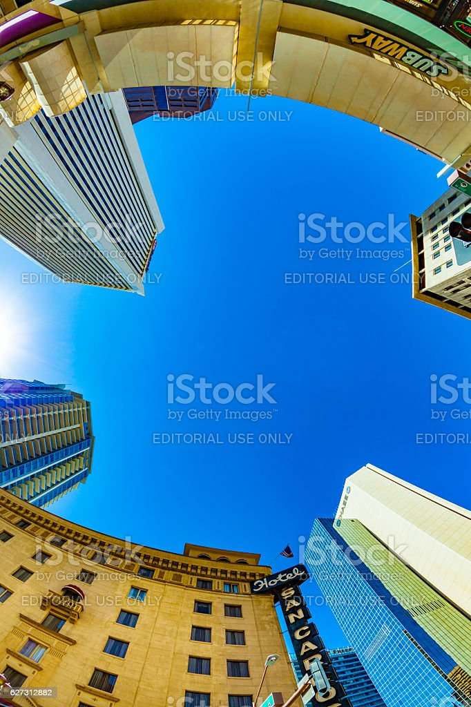 skyscraper downtown phoenix, Arizona stock photo