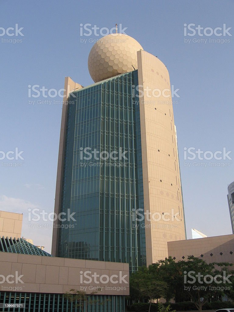 Skyscraper, Dubai royalty-free stock photo