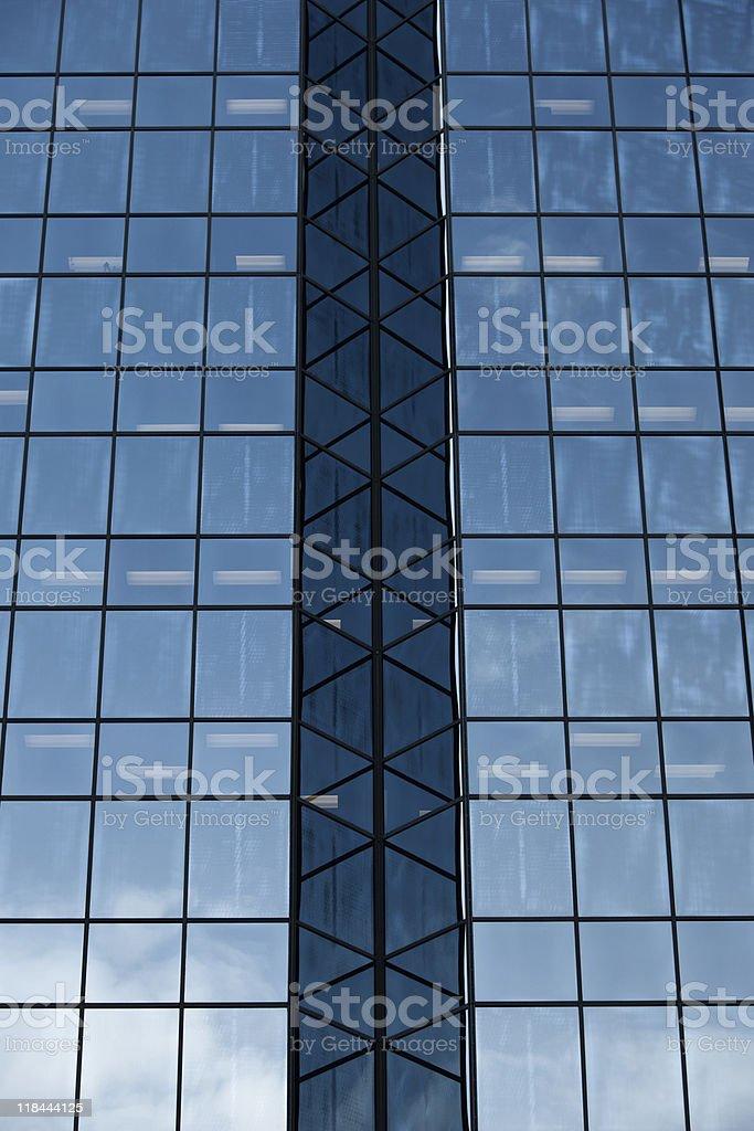 Skyscraper Glass Exterior royalty-free stock photo