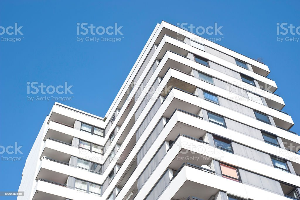 skyscraper high-riser stock photo