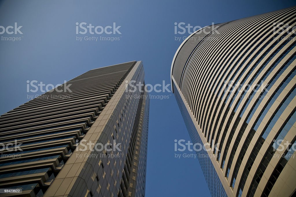 skyscraper hongkong royalty-free stock photo