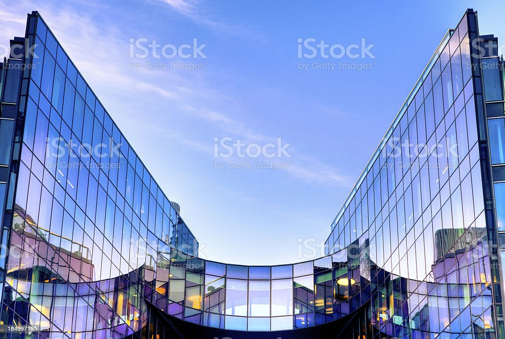 Skyscraper in London royalty-free stock photo