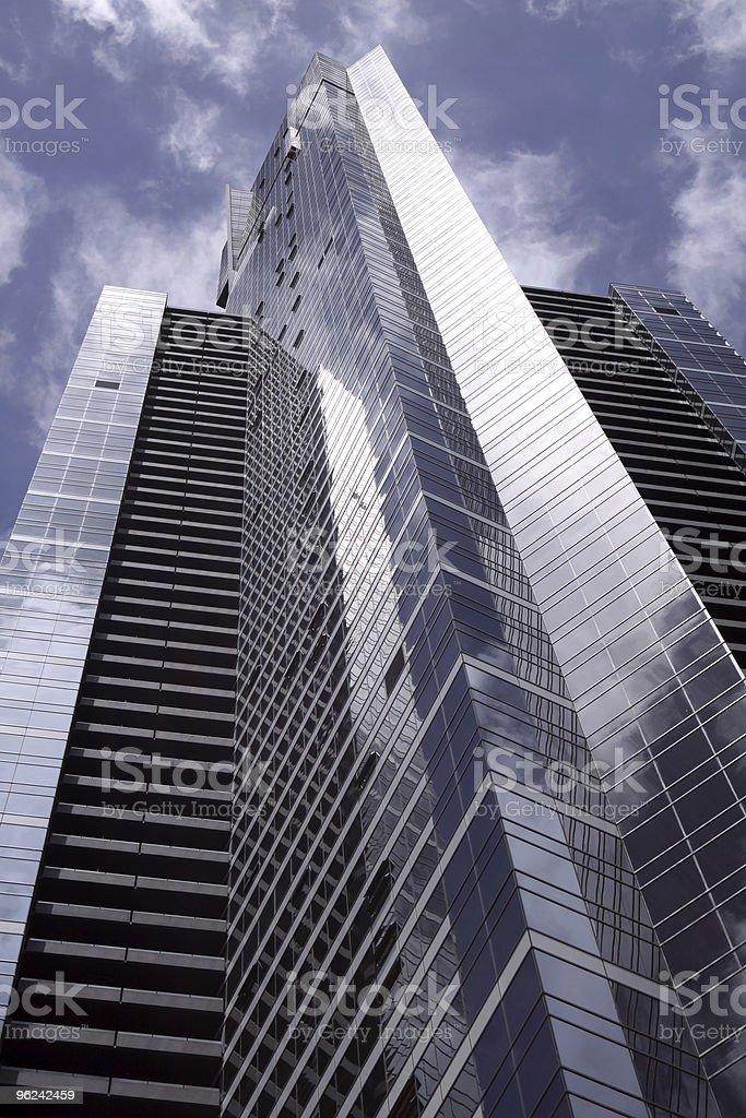Skyscraper in Melbourne royalty-free stock photo