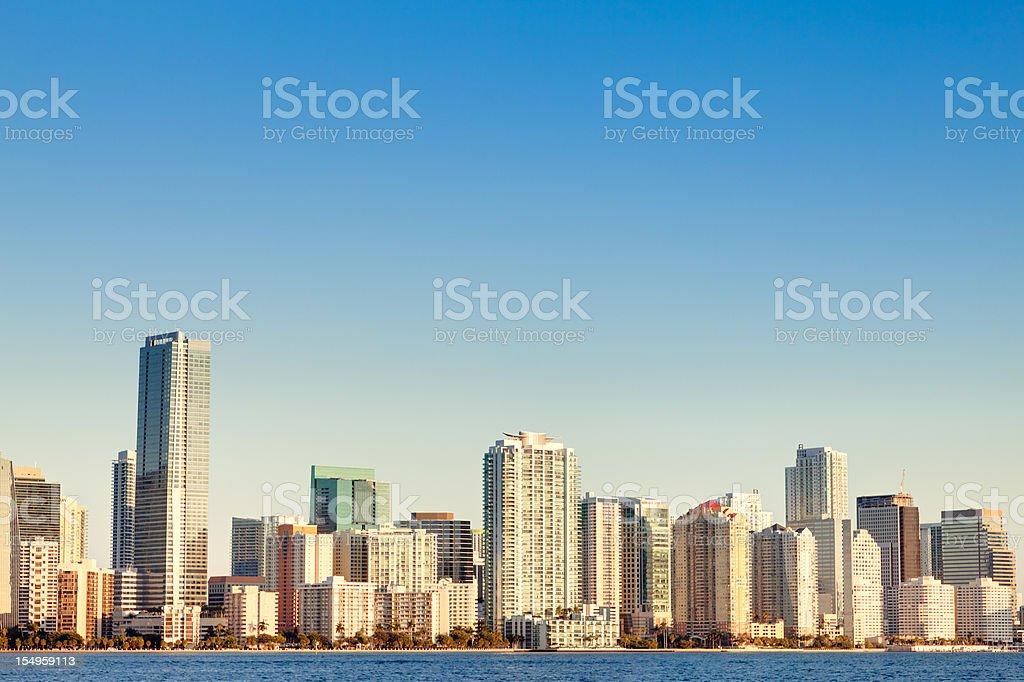 Skyscraper in Miami HDR royalty-free stock photo