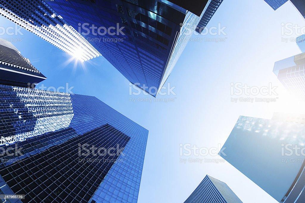 Skyscraper in NYC stock photo