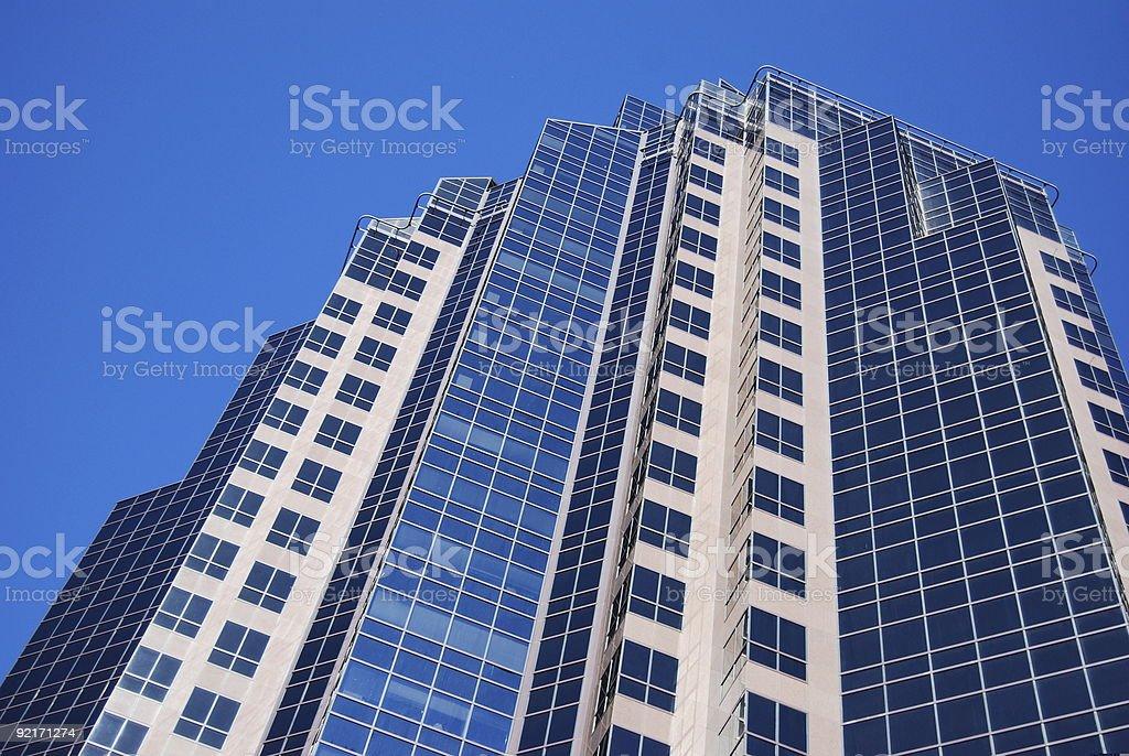 Skyscraper in Sacramento royalty-free stock photo