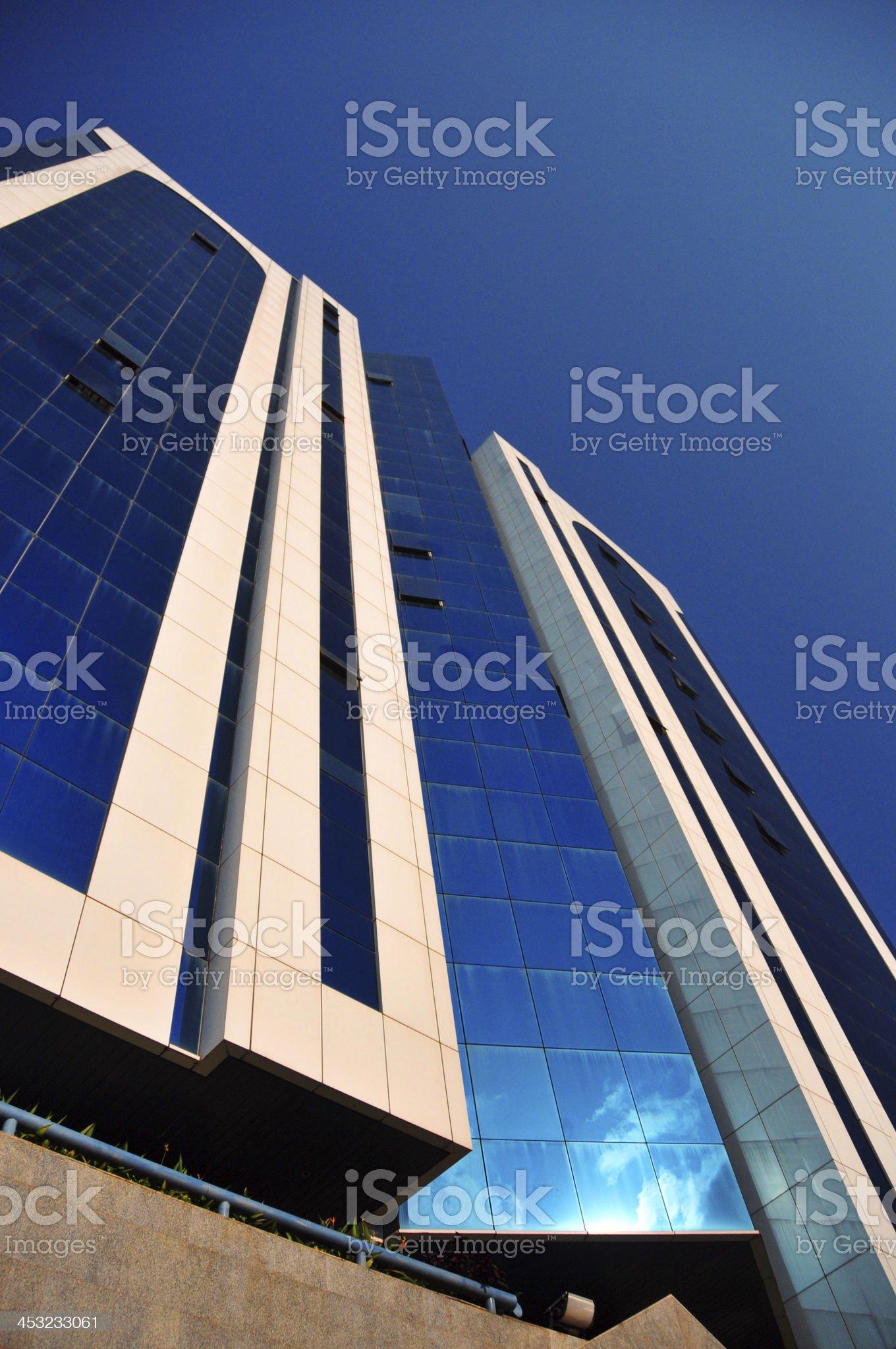 Skyscraper - Kampala, Uganda, East Africa royalty-free stock photo
