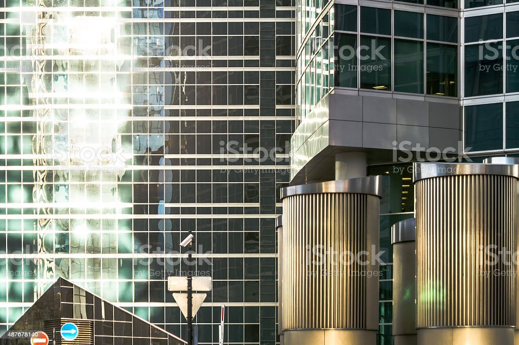 Skyscraper. Modern office building. stock photo