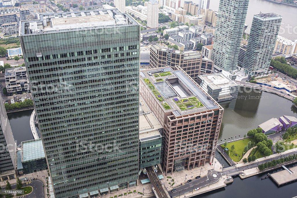 Skyscraper office blocks royalty-free stock photo