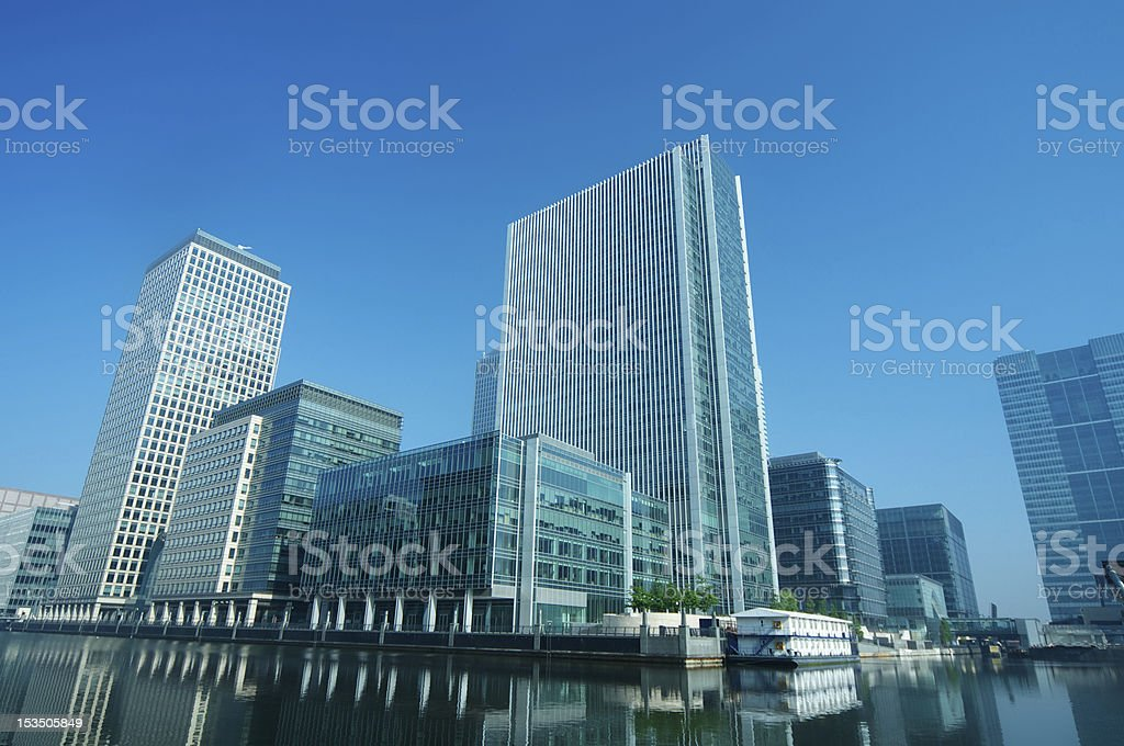 Skyscraper Offices royalty-free stock photo
