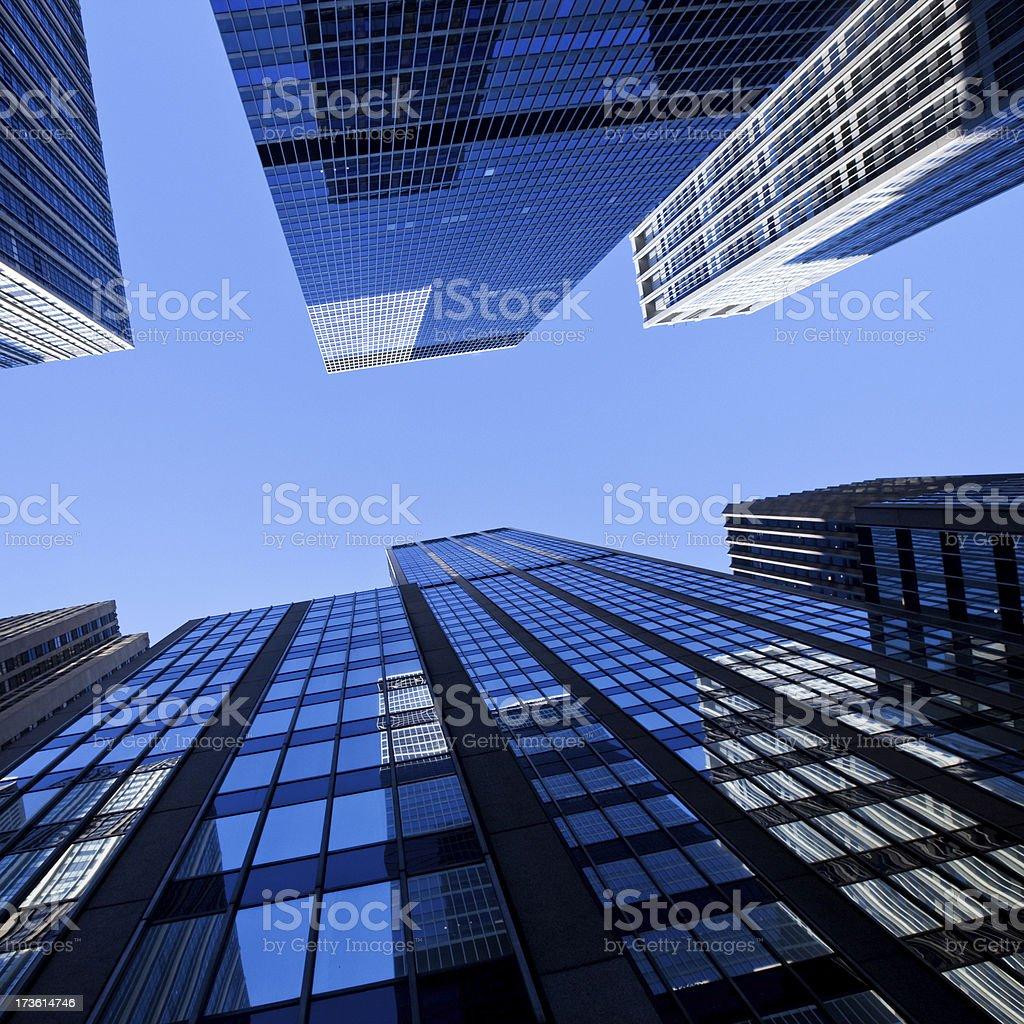 NYC Skyscraper royalty-free stock photo