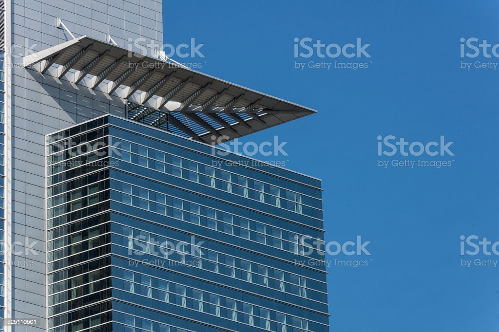 Wolkenkratzer stock photo