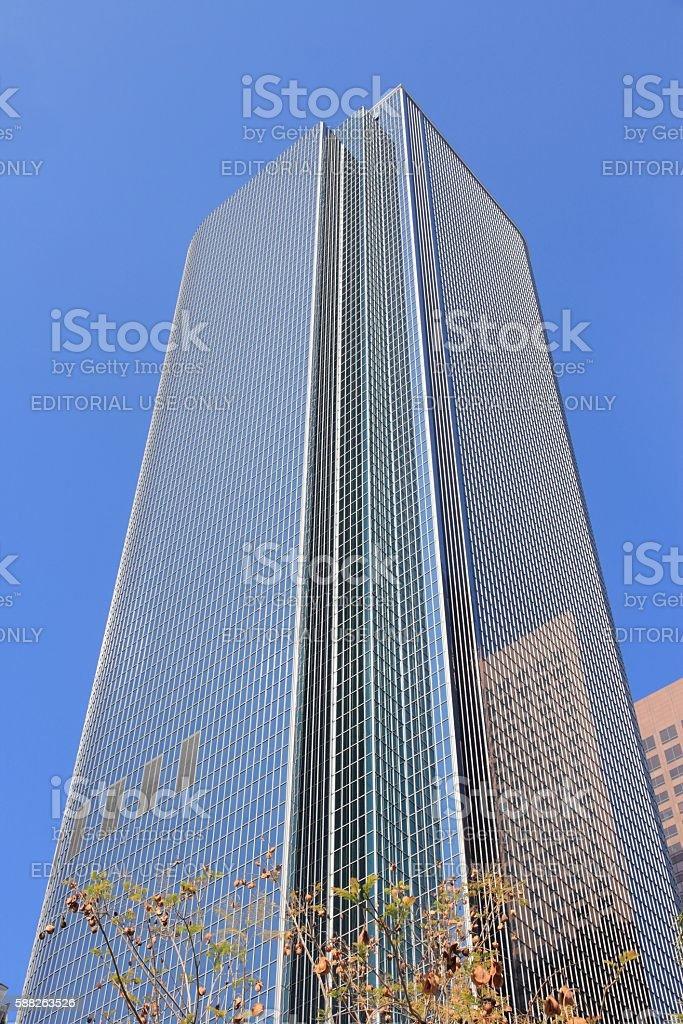 LA skyscraper stock photo